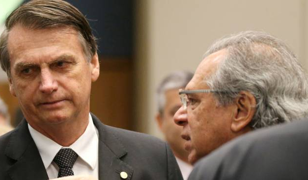 Bolsonaro e Paulo