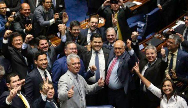 Senador Davi Alcolumbre é eleito presidente do Senado