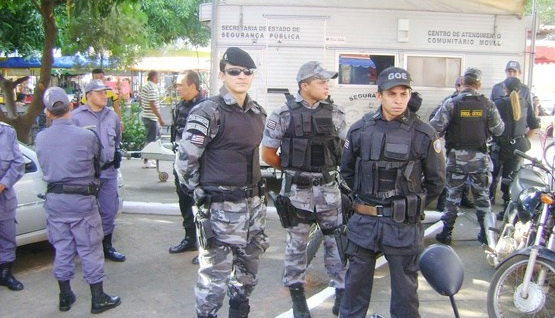 policia miliortar