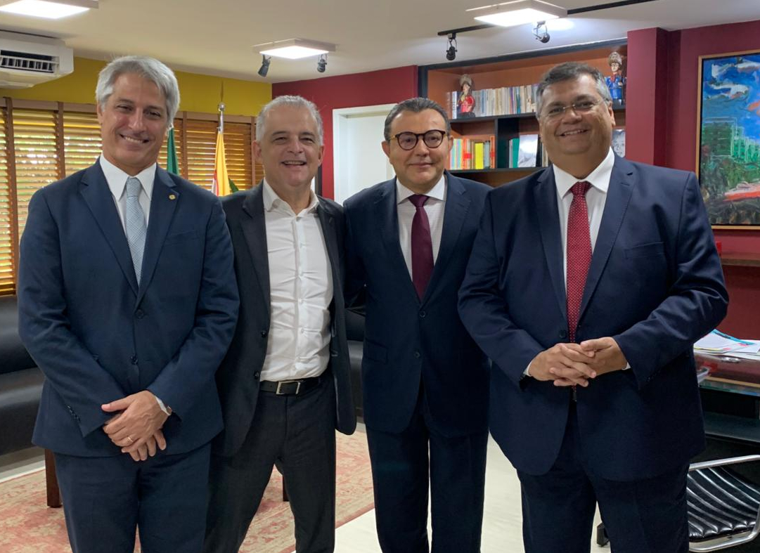 flavio Dino e Carlos Siqueira
